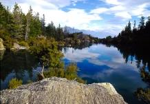 Arethusa_Pool_Mou_Waho_Island_Lake_WanakaLake_on_an_island_within_lake_on_larger_island