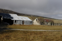 Disused_stone_cottages_and_autumnal_trees_on_Blackstone_Hill_SH_85_Central_Otago