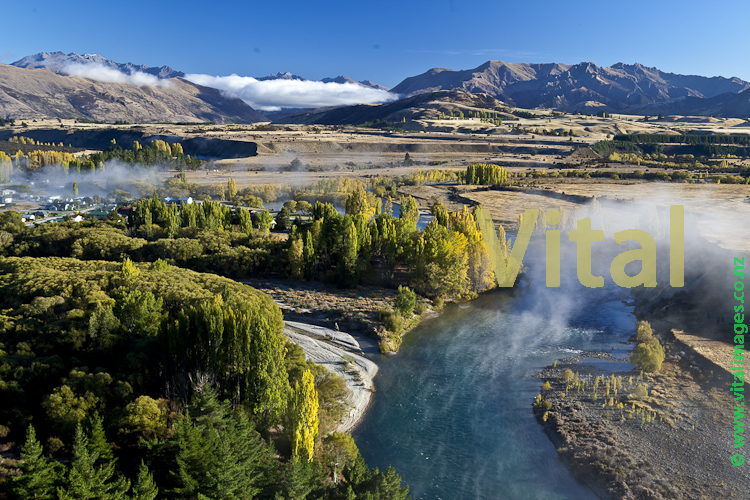 New Zealand NZ Landscape Photography Vineyard Photos Rippon Central Otago