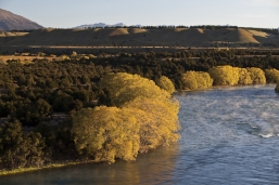 Central_Otago_landscape_the_mighty_Clutha_River_above_the_red_bridge_at_Luggate_Central_Otago_near_Wanaka_Airport