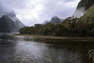 The_Lion_and_Mitre_Peak_Milford_Sound_Fiordland