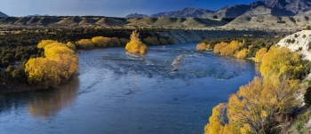 Autumn_Colours_on_the_Clutha_Mata_Aue_river_Oxbow_near_Luggate_with_Hawea_Fluvial_Outwash_terraces_in_distance